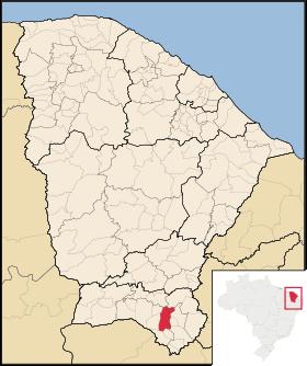 Localização de Missão Velha