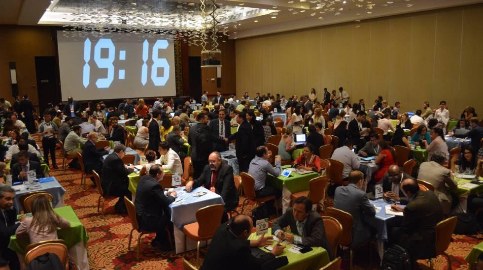 Ronda de contactos de negocios en el Outsource2Lac celebrado esta semana en San José (Costa Rica).