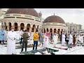 Umat Muslim Rayakan Idul Fitri di Ka'bah Masjidil Haram Mekkah dengan Menaati Prokes