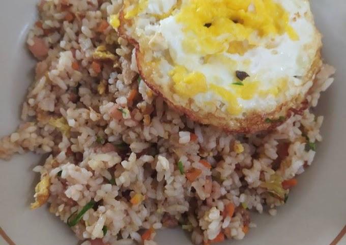 Resep Nasi goreng rumahan buat anak anak Lezat