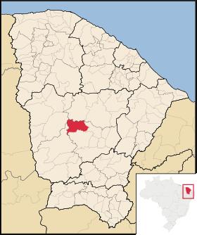 Localização de Pedra Branca