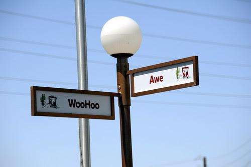 At the Corner of Awe and Woohoo by RV Bob