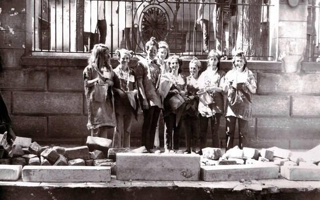 Agentes da inteligência da ditadura militar acompanhavam de perto os militantes estudantis das escolas e universidades. Foto: Arquivo Brasil Nunca Mais