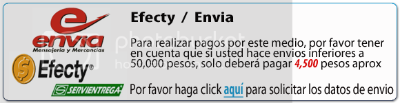Efecty y Envia