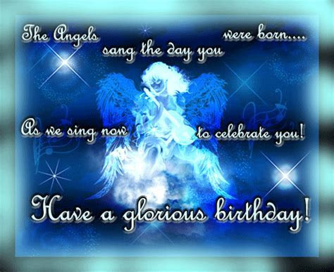 Angels Sang For You. Free Happy Birthday eCards, Greeting
