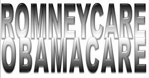 Romneycare-obamacare