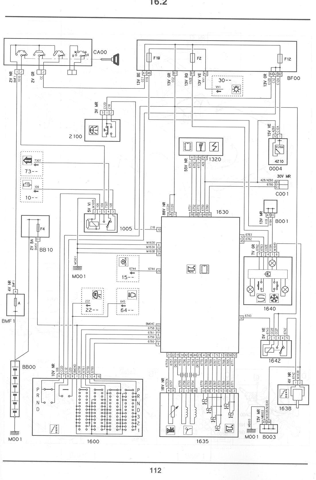citroen gs wiring diagram image 4