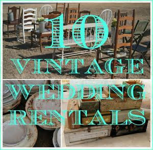 10 Vintage Items You Can Rent For Your Wedding   Bloggers