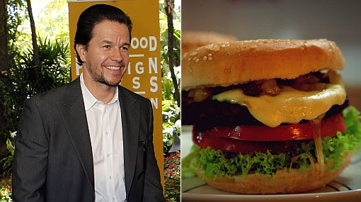 Mark Wahlberg, Hamburguesa