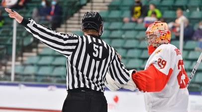 Сборная России по хоккею пропустила две шайбы во втором периоде финала ЮЧМ-2021 с Канадой