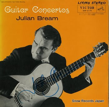 BREAM, JULIAN guitar concertos