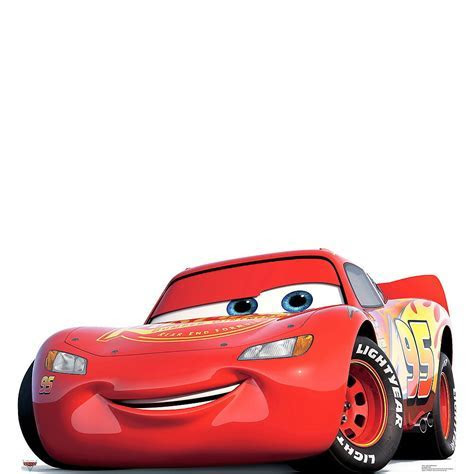 Lightning McQueen Life Size Cardboard Cutout 64in x 33in