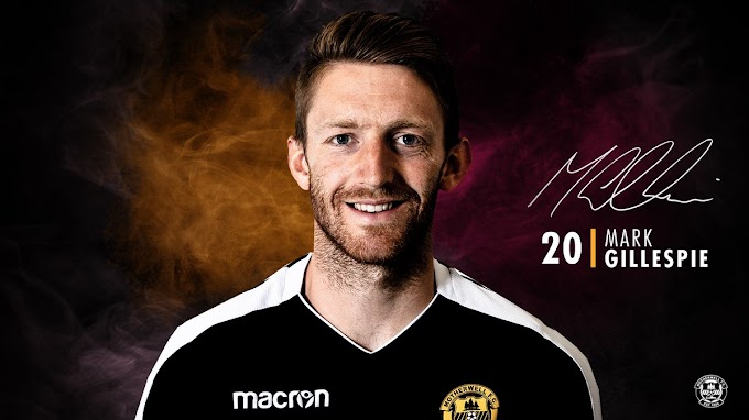 Mark Gillespie Joins Motherwell on a Two-Year Deal