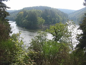 Confluence of the Ourthe Occidentale (Western ...