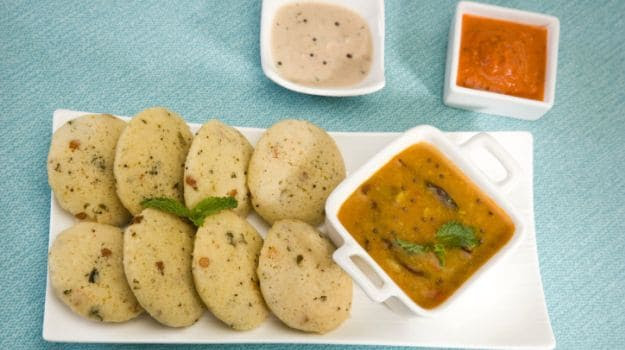 The Kancheepuram Idli served as temple prasad