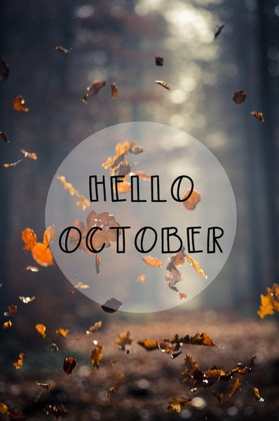 Autumn Leaves Hello October Quotes Pictures, Photos, and Images for Facebook, Tumblr, Pinterest