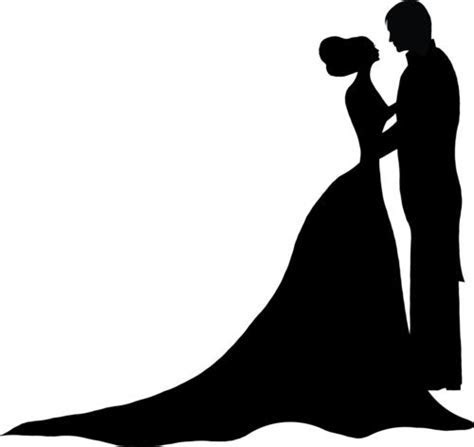 ForgetMeNot: bride and groom silhouettes   Fondant   Bride