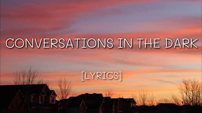 Conversations In The Dark [LYRICS] - John Legend Lyrics