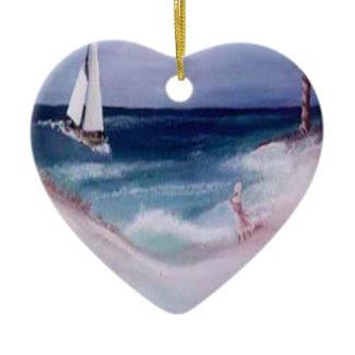 Seashore ornament