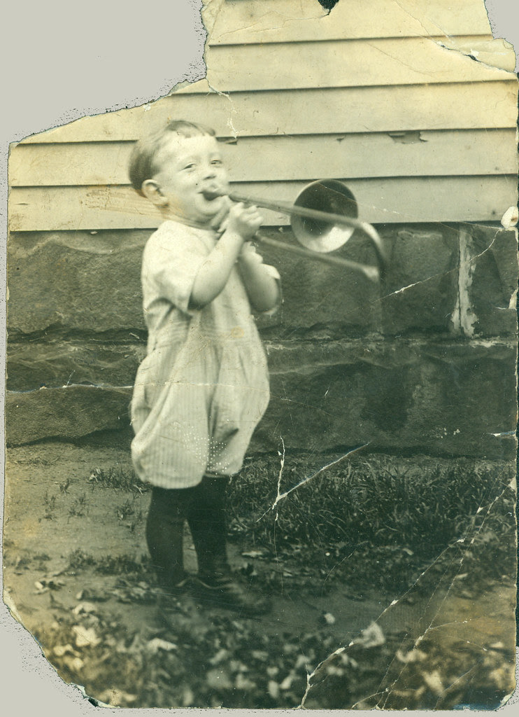 Boy with Trombone