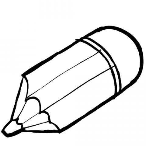 Dibujos Animados A Lapiz Faciles Dibujo De Lapiz Para Colorear