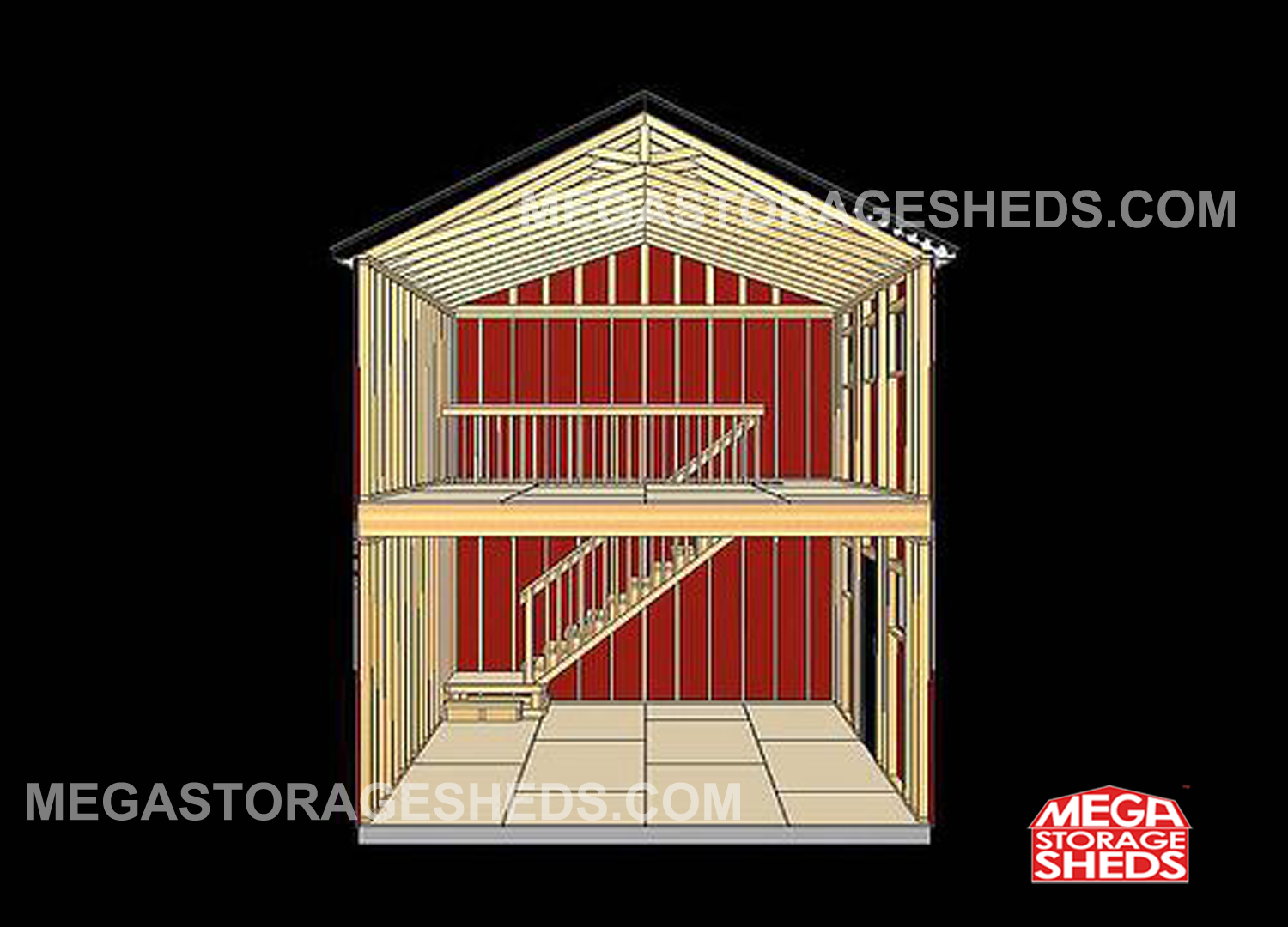 Story Storage Building Plans Additionally 2 Shed
