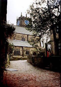 Haworth Church, Haworth, Bronte Country, West Yorkshire