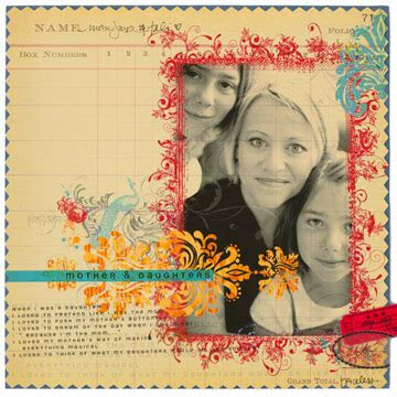 Mother Daughter Quotes For Scrapbooking