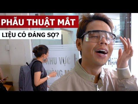 Phẫu thuật mắt liệu có đáng sợ? (Oops Banana Vlog #24)