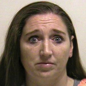 Megan Huntsman em foto divulgada pela prisão do condado de Pleasant Grove, em Utah, nos EUA