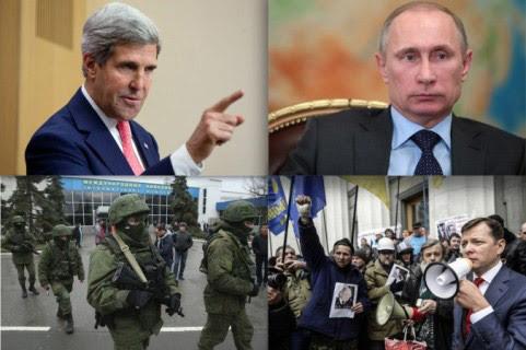 Ukraina, Nga, phương Tây, john Kerry, Putin, Kiev