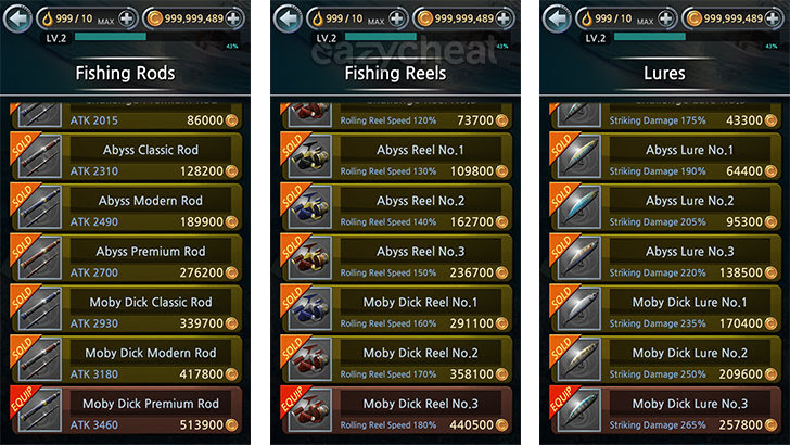 Fishing Hook v1 2 5 Cheat - Easiest way to cheat android