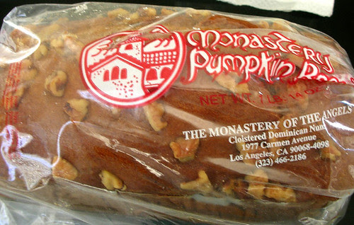 monastery pumpkin bread