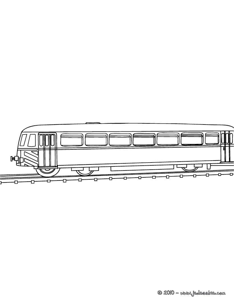 Coloriage de 2 TGV Wagon  colorier Coloriage Coloriage VEHICULES Coloriage TRAIN Coloriages TRAINS