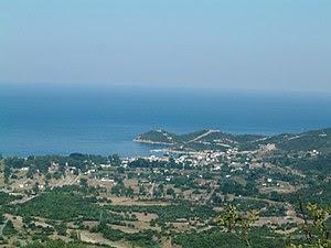 English: Village of Olymbiada, Chalkidiki, Gre...
