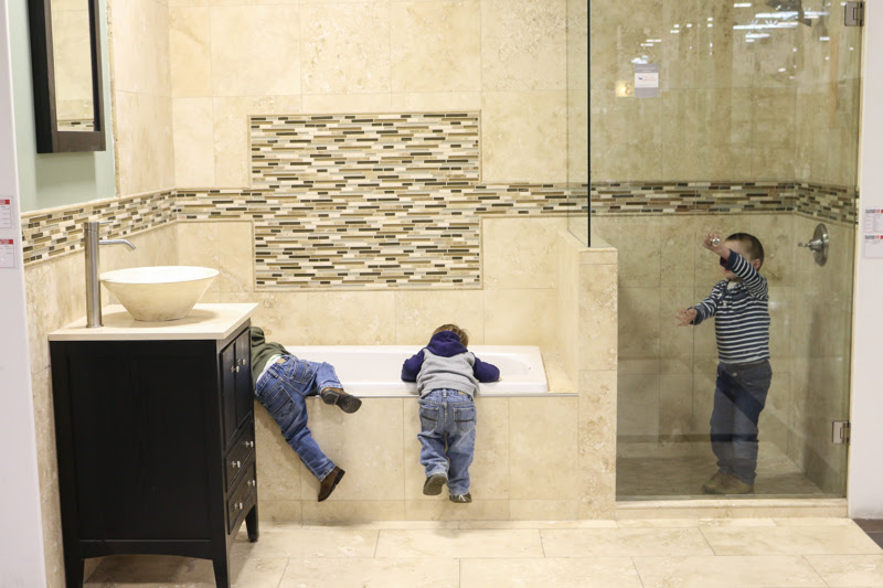 Tile Combinations for Any Bathroom - Bower Power