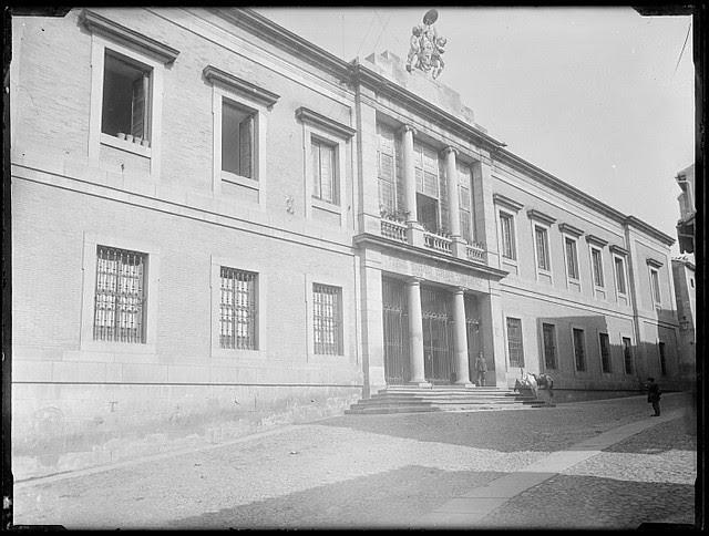 Hospital del Nuncio hacia 1880. Fotografía de Casiano Alguacil