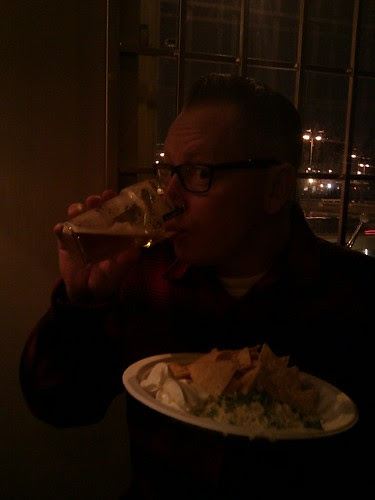 Dr Dan and his nachos.