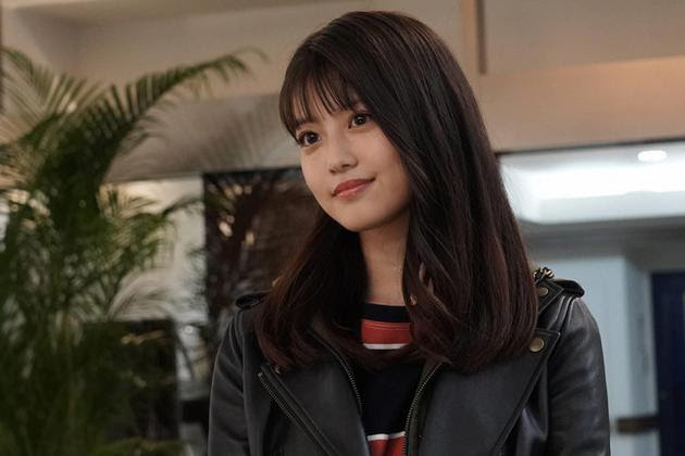 今田美樱在月九剧《金装律师》饰演谷元砂里