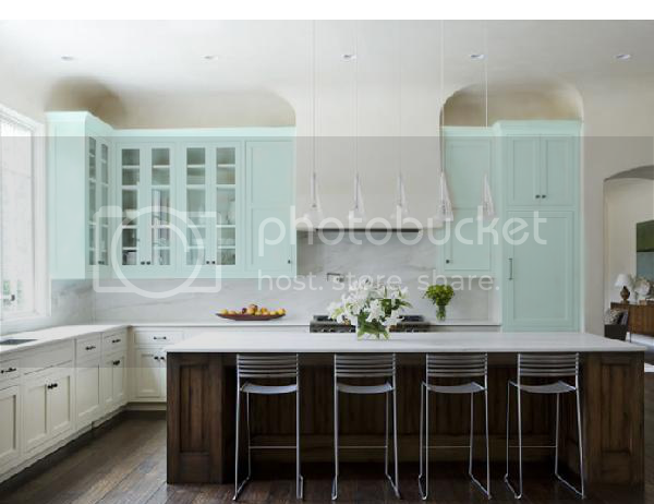 Tiffany Blue Kitchen Cabinets Photo by queenofsmoky ...