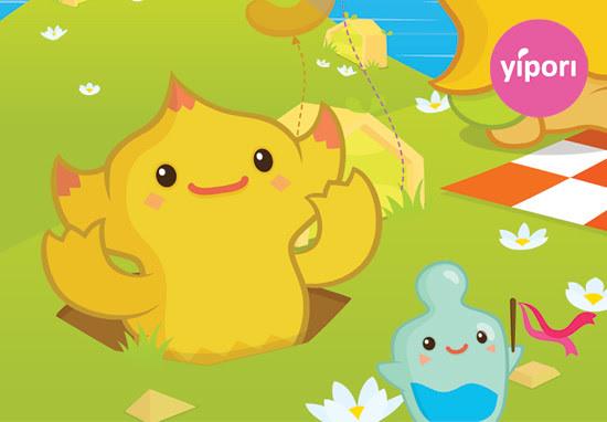 Yipori turns three! (Close up)