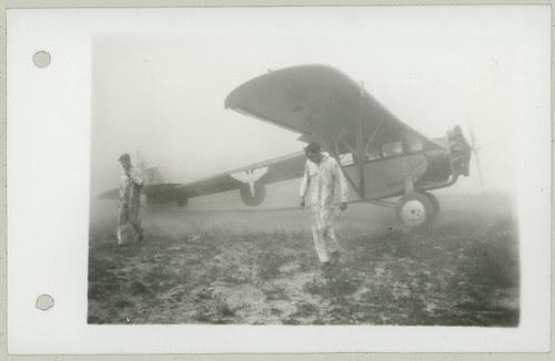 Single engine two men