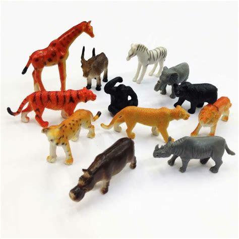 wild animals toys plastic