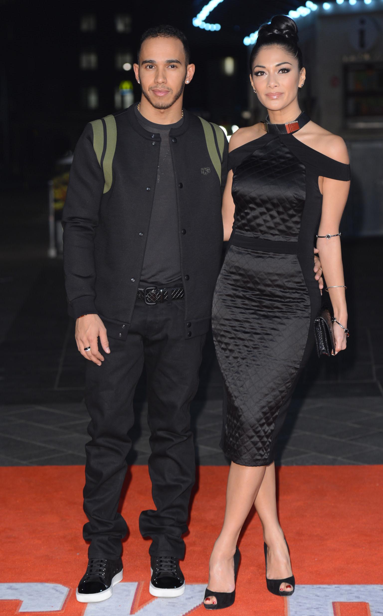Nicole Scherzinger Pours Water On Lewis Hamilton Reunion ...