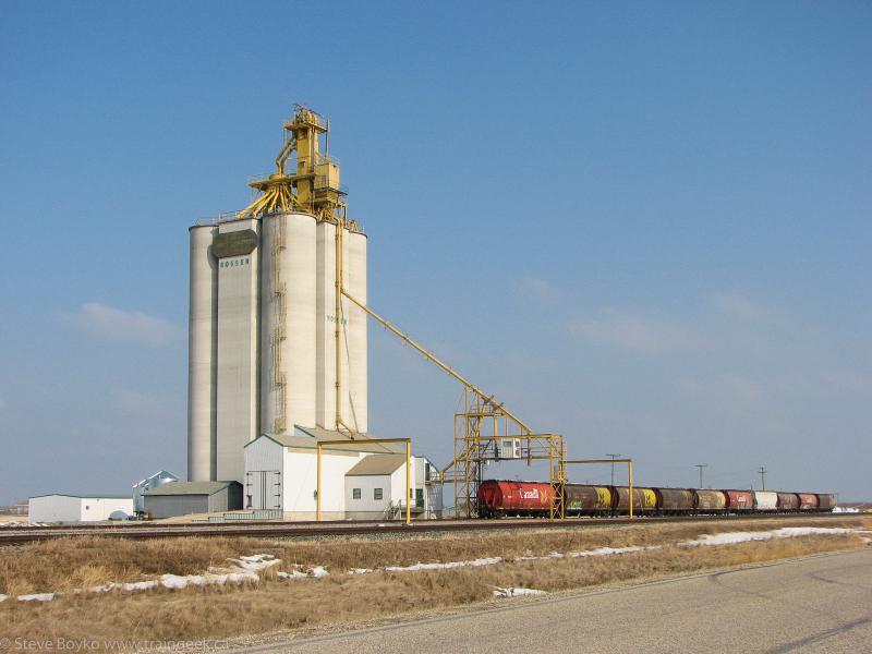 Elevator in Rosser Manitoba