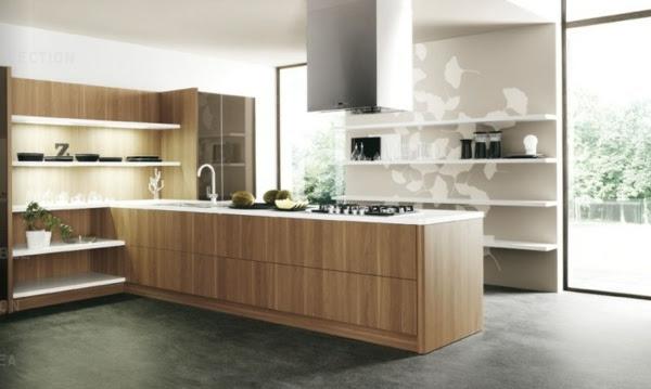 Minimalist kitchen design by Cesar. Italian kithen designs from Cesar