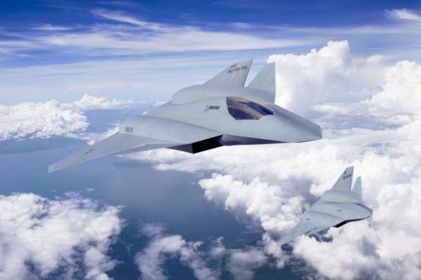 Diseño de arte para el Boeing F / A-XX