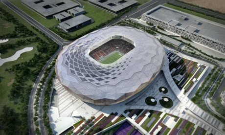 The artists' impressions of Qatar's 2022 World Cup venues, like the Qatar Foundation Stadium, are impressive –but criticism over treatment of migrant workers has dogged the development.