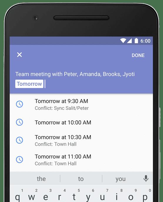 Google Calendar_conflict assistance