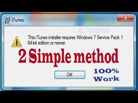 ComputerTips_Laiju: Fix error: iTunes installer requires